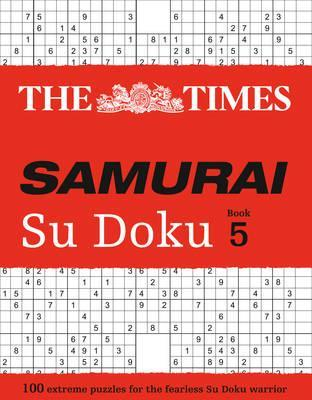 The Times Samurai Su Doku 5  100 Challenging Puzzles from the Times