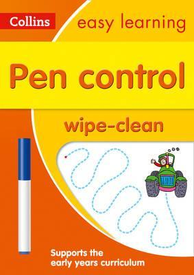 Pen Control Age 3-5 Wipe Clean Activity Book