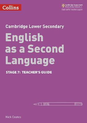 Lower Secondary English as a Second Language Teacher's Guide Stage 7