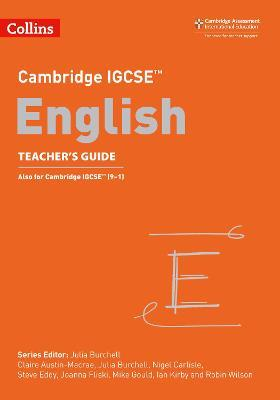 Cambridge IGCSE (TM) English Teacher's Guide