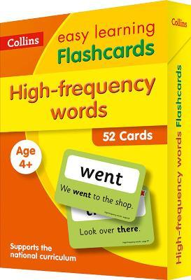 High Frequency Words Flashcards : Collins Easy Learning