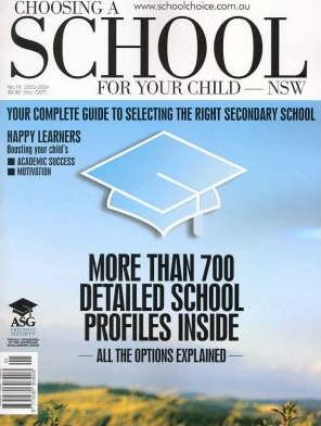 Choosing a School for Your Child: New South Wales 2003