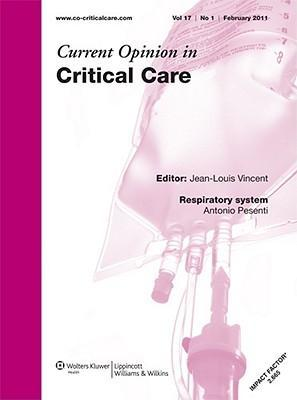 Sj Current Opinion Critical Care