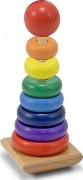 Rainbow Stacker (Wooden)