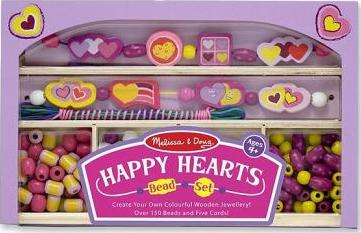 Happy Hearts Bead Set (Wooden)