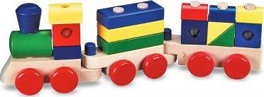 Stacking Train (Wooden)
