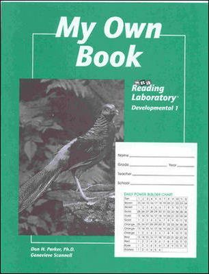 Student Record Book for Reading Lab 1d 1998