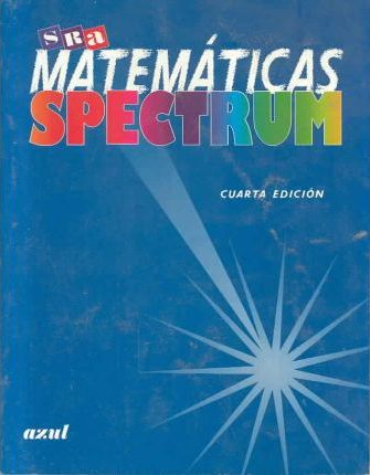 Mathematics Spectrum Blue Book Level 7 (Spanish)