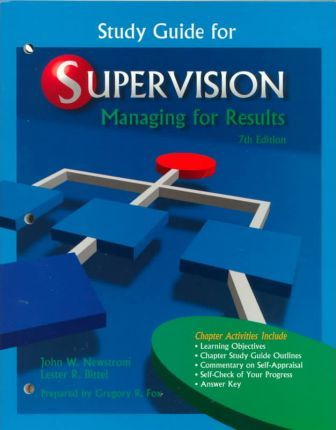 Supervision Managing for Results