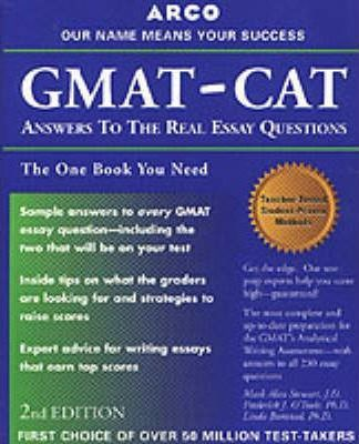 gmat essays and answers