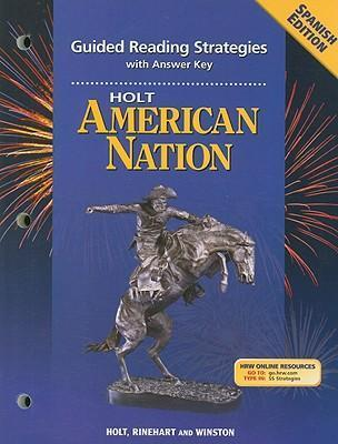 holt american nation guided reading strategies with answer key rh bookdepository com McDougal Karen Fine-B-Hide McDougal's Nashville