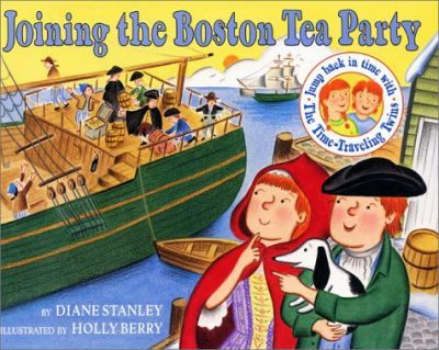 The Time-Traveling Twins Joining the Boston Tea Party