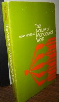 Nature of Managerial Work