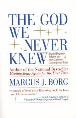 meeting jesus again for the first time borg marcus j