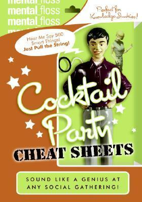 Astrosadventuresbookclub.com Mental Floss : Cocktail Party Cheat Sheets Image