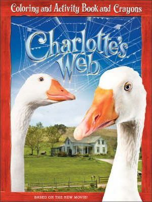 Charlotte's Web: Coloring and Activity Book and Crayons