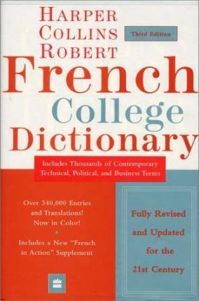 HarperCollins Robert French College Dictionary, 3e