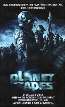 Planet of the Apes Movie Novel