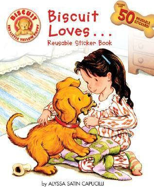 Biscuit Loves... Reusable Sticker Book