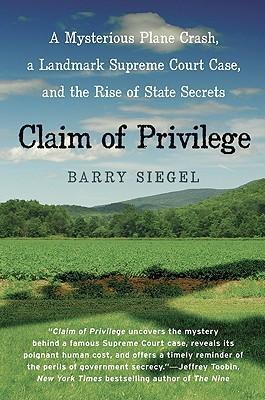 Claim of Privilege
