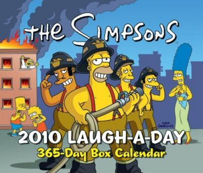 The Simpsons Laugh-A-Day Calendar
