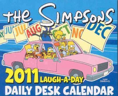 The Simpsons Laugh-A-Day Daily Desk Calendar