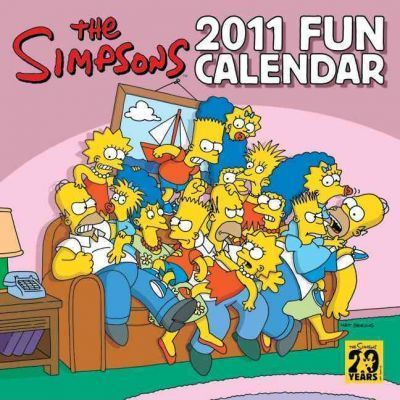 The Simpsons Fun Calendar
