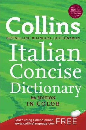 Collins Italian Dictionary and Grammar, 2nd Edition