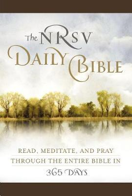 NRSV, The Daily Bible, Imitation Leather, Brown