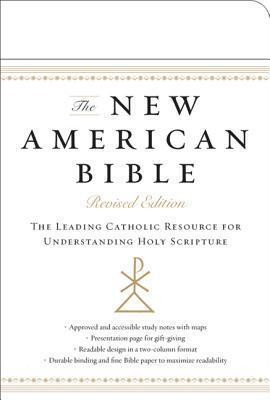 New American Bible (White Imitation Leather)