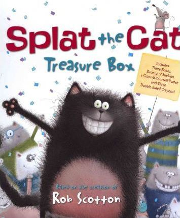 Splat the Cat Treasure Box
