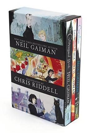Neil Gaiman/Chris Riddell 3-Book Box Set