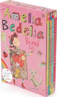 Amelia Bedelia Chapter Book 4-Book Box Set #2