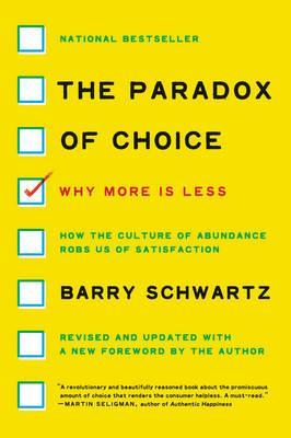 The Paradox of Choice Cover Image
