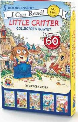 Little Critter Collector's Quintet : Critters Who Care, Going to the Firehouse, This Is My Town, Going to the Sea Park, to the Rescue