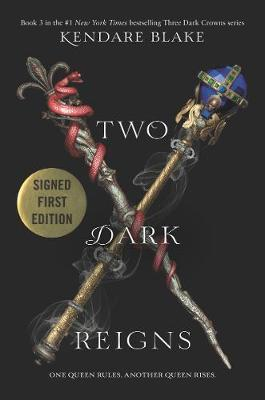 Two Dark Reigns Costco Signed