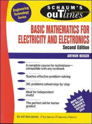 Schaum S Outline Of Basic Mathematics For Electricity And border=