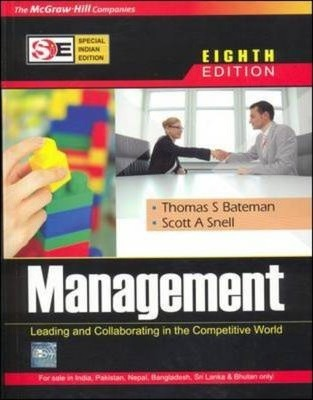 MANAGEMENT: Leading and Collaborating in the Competitive World (SIE) Thomas Bateman pdf