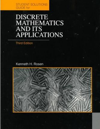 discrete mathematics and its applications student s solutions rh bookdepository com Discrete Mathematics Rosen 7th Solutions discrete math kenneth rosen solution manual pdf