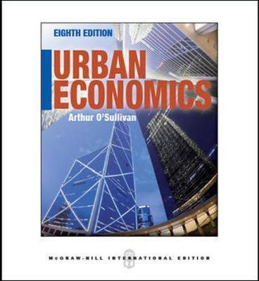 Urban Economics Book