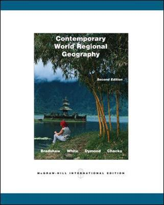 Contemporary World Regional Geography: With Interactive World CD