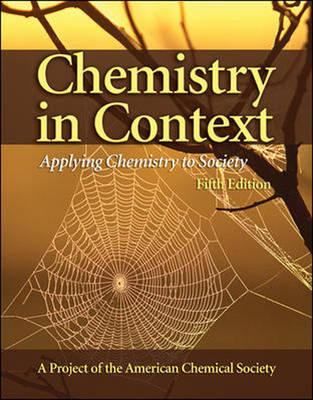 Chemistry in Context: With Online Learning Center Password Card