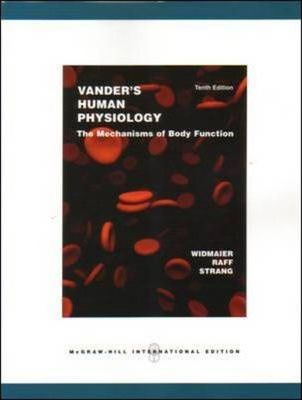 Vander S Human Physiology With Olc Bind In Card Eric P Widmaier