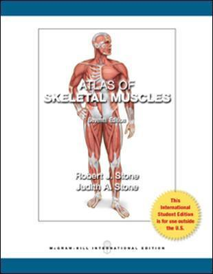 Atlas of Skeletal Muscles - Judith Stone, Robert Stone