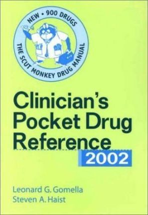 Clinician's Pocket Drug Reference 2002 (Counter Display, 10 Copy Pre-Pack)