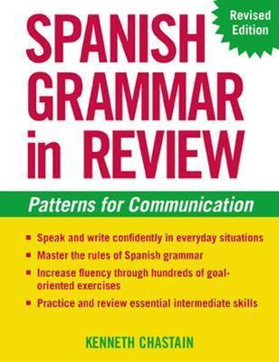 Spanish Grammar In Review, 2/E