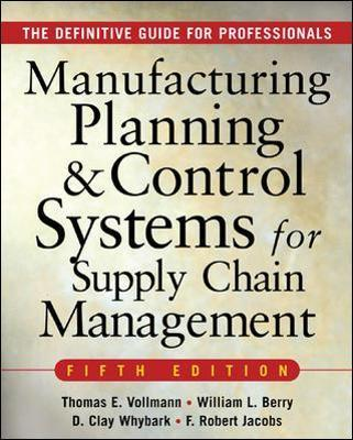 Manufacturing planning and control systems for supply chain manufacturing planning and control systems for supply chain management fandeluxe Choice Image