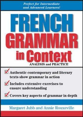 French Grammar in Context : Analysis and Practice
