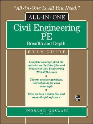 Civil Engineering All-In-One PE Exam Guide: Breadth and