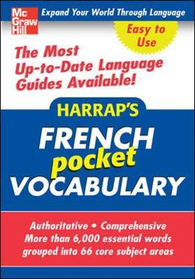 Harrap's Pocket French Vocabulary